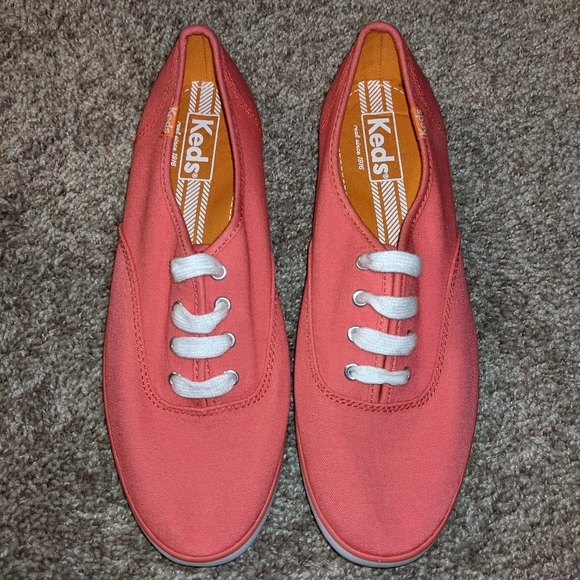 Classic pink keds canvas womens sneakers shoes